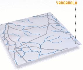 3d view of Yangakola