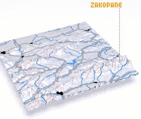 3d view of Zakopane