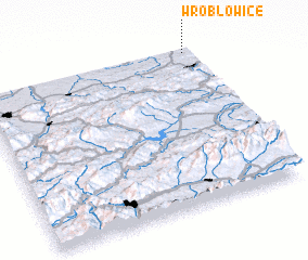 3d view of Wróblowice