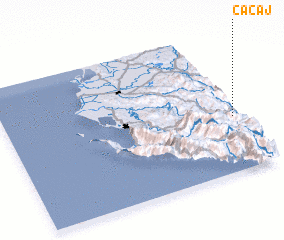 3d view of Cacaj