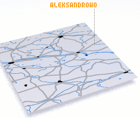 3d view of Aleksandrowo