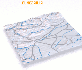 3d view of El Mezaïlia