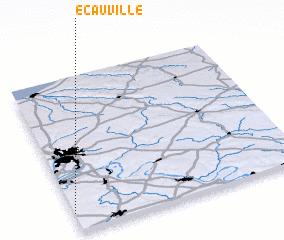 3d view of Écauville