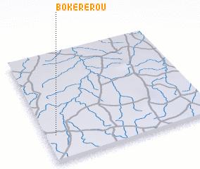 3d view of Bokérérou