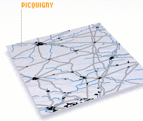 3d view of Picquigny