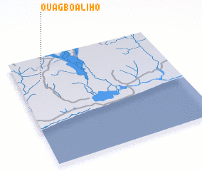 3d view of Ouagbo-Aliho
