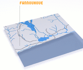 3d view of Fannouhoué