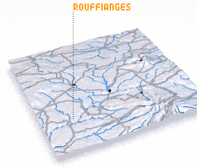 3d view of Rouffianges
