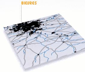 3d view of Bièvres