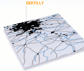 3d view of Gentilly