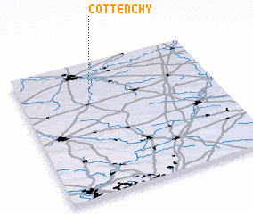 3d view of Cottenchy