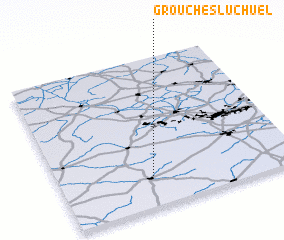 3d view of Grouches-Luchuel