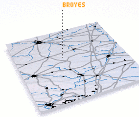 3d view of Broyes