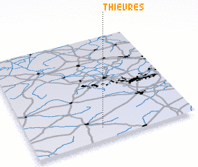 3d view of Thièvres