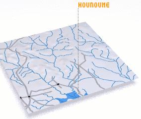3d view of Hounoumè