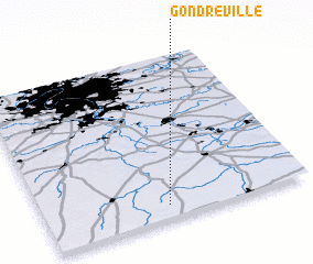 3d view of Gondreville