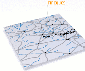 3d view of Tincques