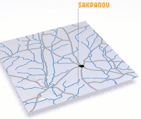 3d view of Sakpanou