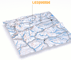 3d view of Lesquerde
