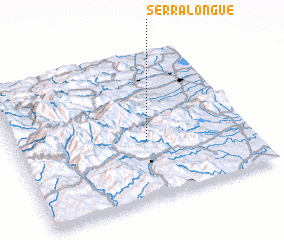 3d view of Serralongue