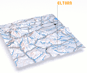 3d view of El Torn
