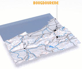 3d view of Bou Gdourene