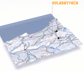 3d view of Oulad 'Ayyâch