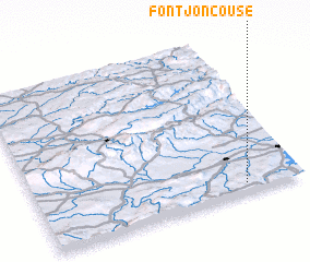3d view of Fontjoncouse