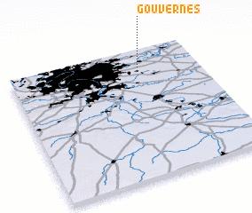 3d view of Gouvernes