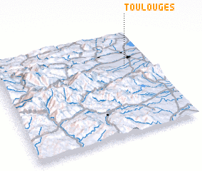 3d view of Toulouges