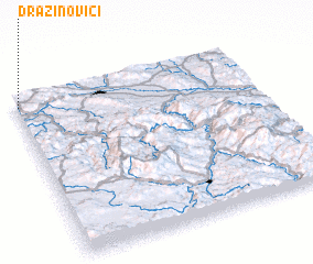3d view of Dražinovići