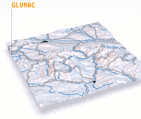 3d view of Glumač
