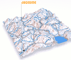 3d view of Jagodinë