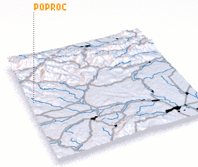 3d view of Poproč