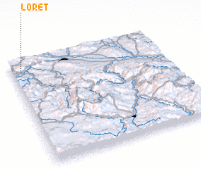 3d view of Loret