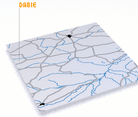 3d view of Dąbie
