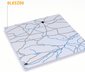 3d view of Oleszno