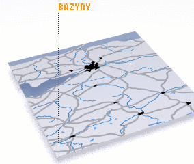 3d view of Bażyny
