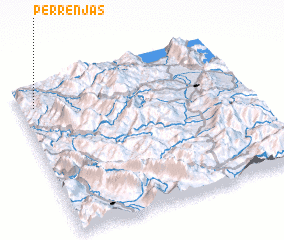 3d view of Përrenjas