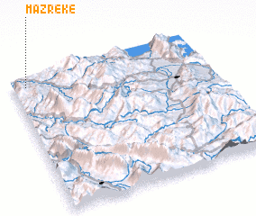 3d view of Mazrekë