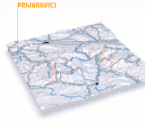 3d view of Prijanovići