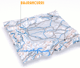 3d view of Bajram Curri