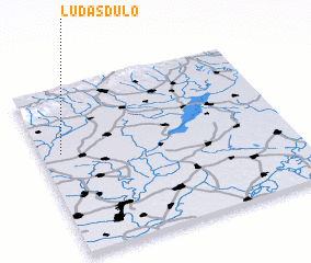 3d view of Ludasdůlő