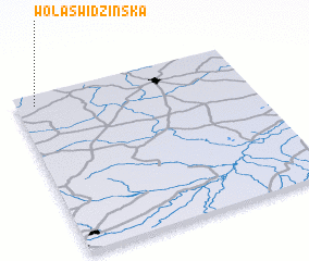 3d view of Wola Świdzińska