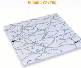 3d view of Ruda Pilczycka