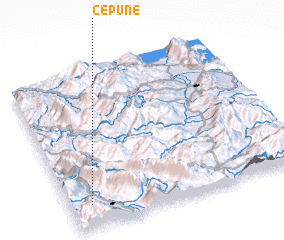 3d view of Çepunë