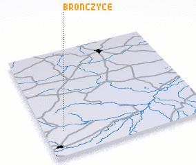 3d view of Brończyce