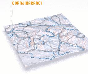 3d view of Gornji Karanci