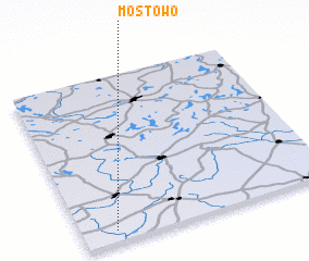 3d view of Mostowo
