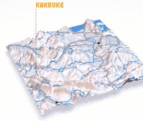 3d view of Kakrukë